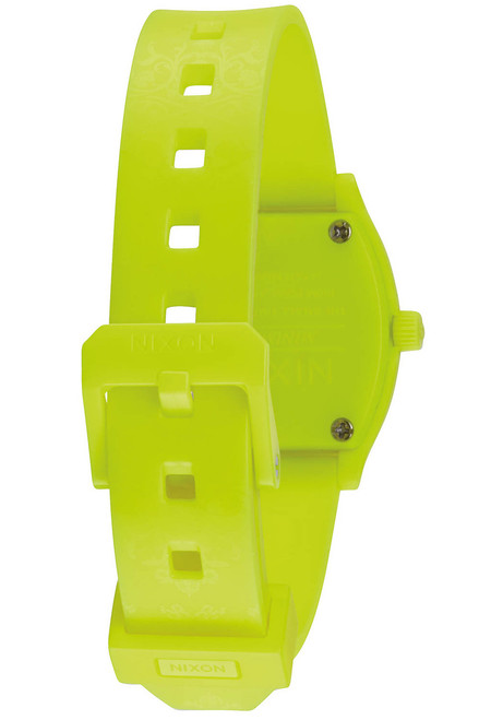 Nixon Small Time Teller P Neon Yellow Bettlepoint (A4251896) band