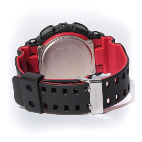 G-Shock DW-5600HR Black Red (DW-5600HR-1) BAND