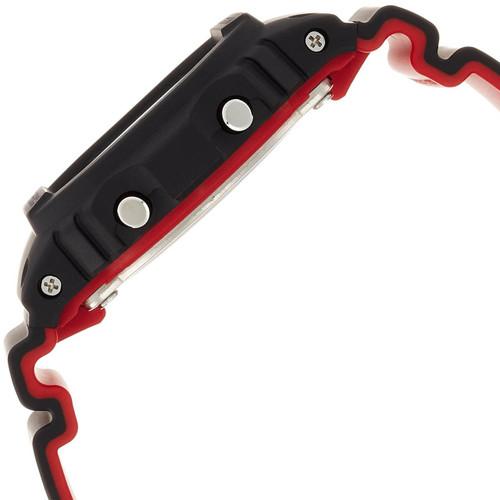 G-Shock DW-5600HR Black Red (DW-5600HR-1) SIDE