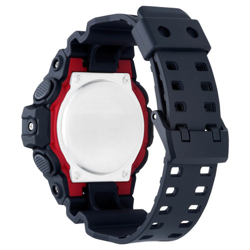 G-Shock GA-700 Anadigi Black (GA-700-1A) back