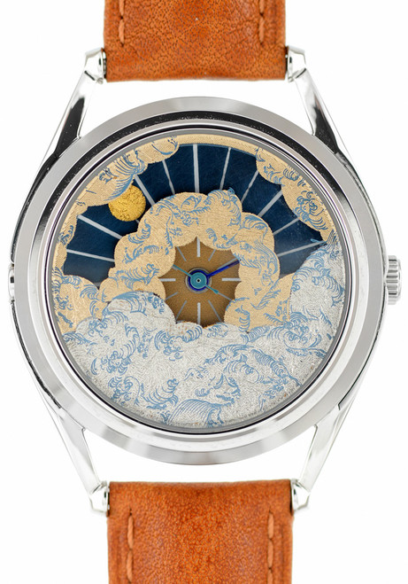 Mr. Jones Nuage Gold-Leafed Sun and Moon