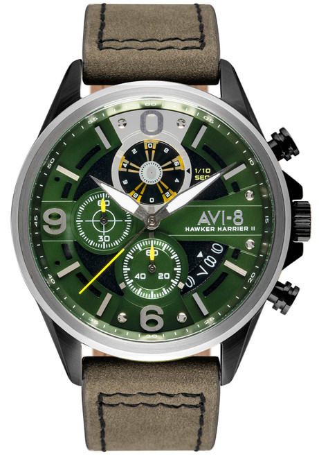 AVI-8 Hawker Harrier II AV-4051-02 Turbine Edition Green (AV-4051-02)