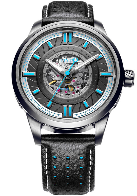 Fiyta Roadster Automatic Skeleton Black Blue (WGA866008-BBB)