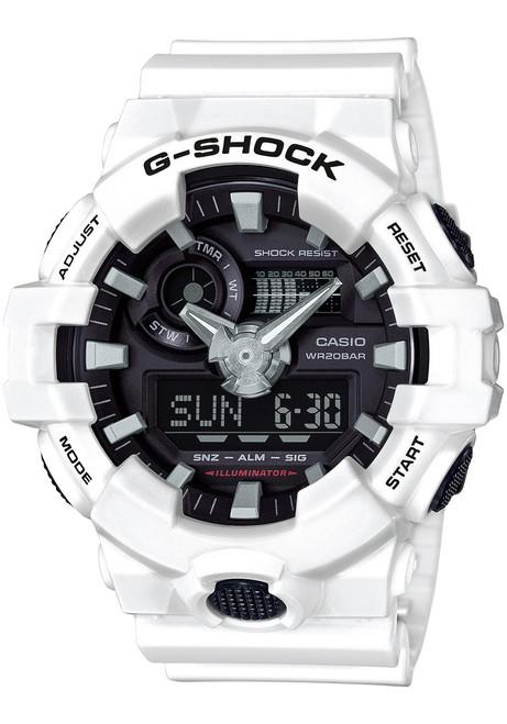 G-Shock GA-700 Anadigi White (GA700-7A)