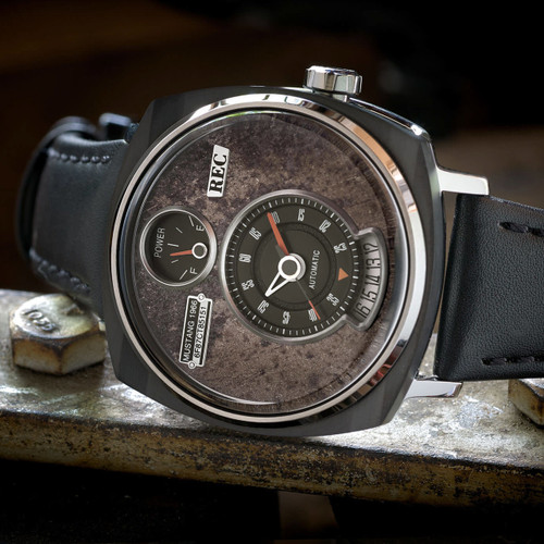 REC P51-01 Automatic Silver Black Limited Edition (P51-01)