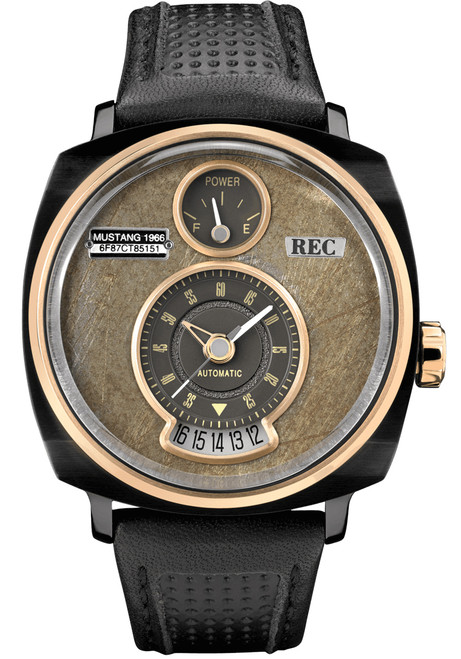 REC P51-03 Automatic Black Rose Gold Limited Edition (P51-03)