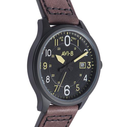 AVI-8 Hawker Hurricane AV-4053-0D Date Brown Black (AV-4053-0D)