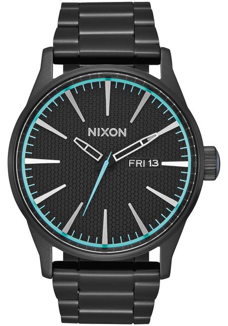Nixon Sentry SS All Black Blue (A356602)