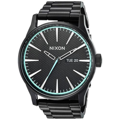 Nixon Sentry SS All Black Blue (A356602) full