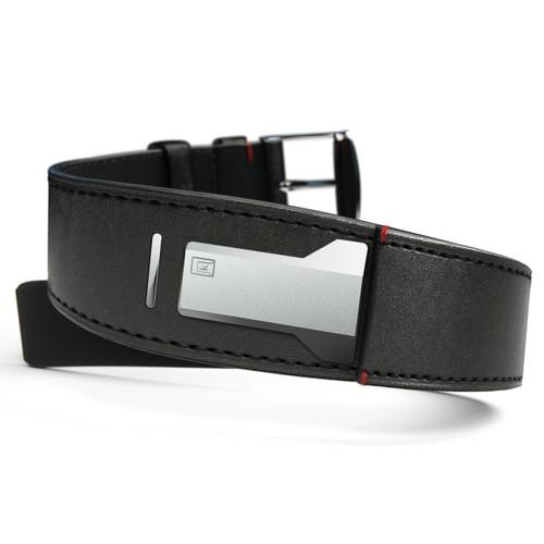 Klokers KLINK-01-MC1 Satin Black Leather Strap (KLINK-01-MC1)