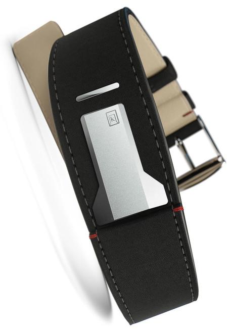 Klokers KLINK-01-MC2 Matte Black Leather Strap (KLINK-01-MC2)