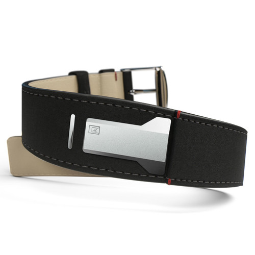 Klokers KLINK-01-MC2 Matte Black Leather Strap (KLINK-01-MC2)