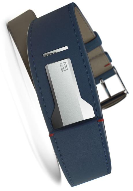 Klokers KLINK-01-MC3 Indigo Blue Leather Strap (KLINK-01-MC3)