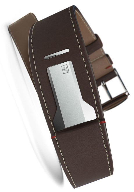 Klokers KLINK-01-MC4 Chocolate Brown Leather Strap (KLINK-01-MC4)