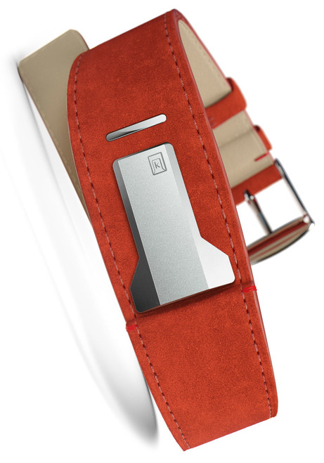 Klokers KLINK-01-MC5 Orange Alcantara Strap (KLINK-01-MC5)