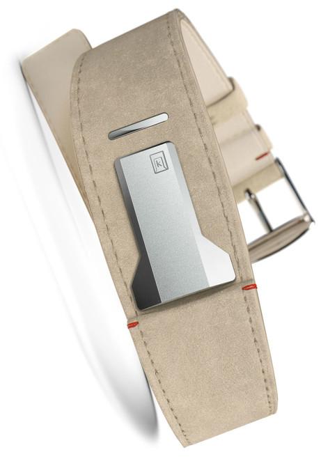 Klokers KLINK-01-MC6 Grey Alcantara Strap (KLINK-01-MC6)