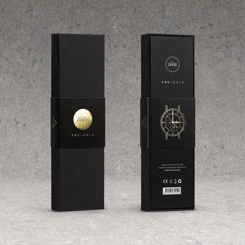 Aark Eon Gold Chronograph (EONGL01) box
