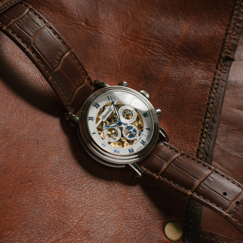 Ingersoll IN2716WH Gandhi Automatic Brown (IN2716WH)