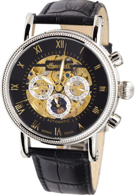 Ingersoll IN7911BK Alaska Skeleton Automatic (IN7911BK)