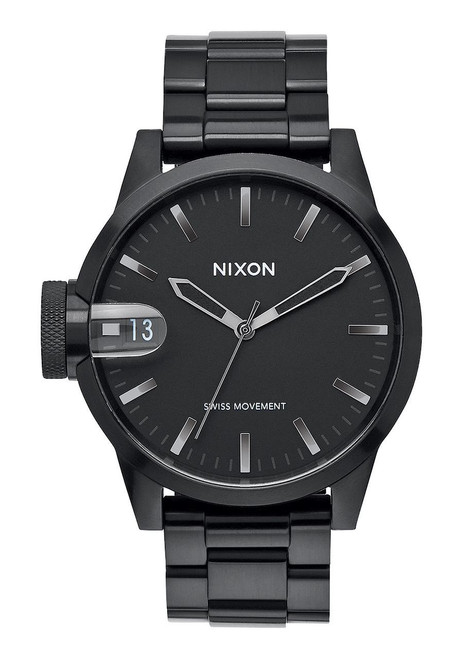 Nixon Chronicle 44 Black Gunmetal (A4411420)