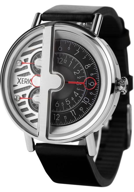 Xeric Soloscope RQ Silver Black (SRQ-3014-BLK)