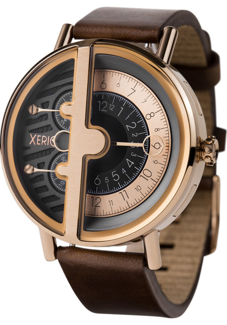 Xeric Soloscope RQ Rose Gold Brown (SRQ-3018-BRN)