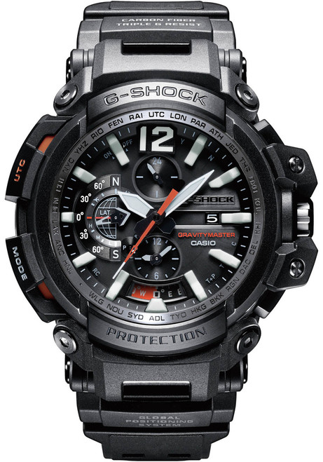 G-Shock Gravitymaster GPS Bluetooth Connected GPW2000-1A (GPW2000-1A)
