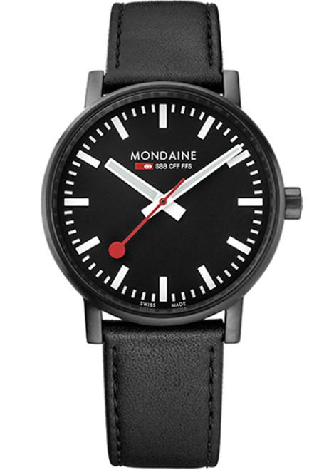 Mondaine Evo 2 Big All Black (MSE-40121-LB)