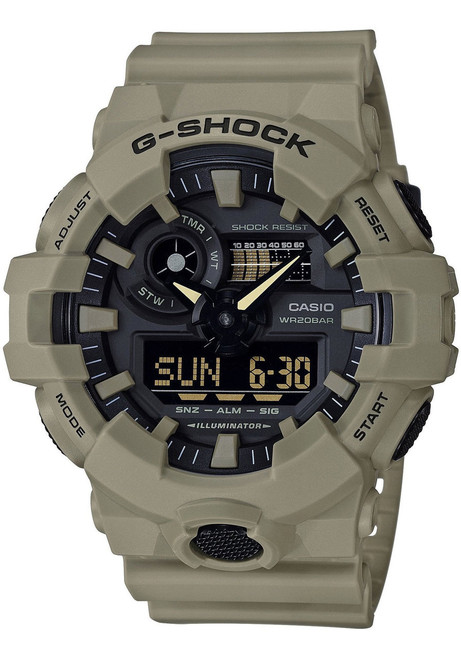 Casio G-Shock GA700 Tan (GA700UC-5A)