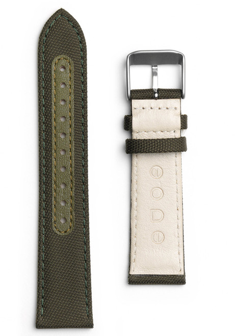 Eone Bradley Olive Green Canvas Strap (S-GREEN)