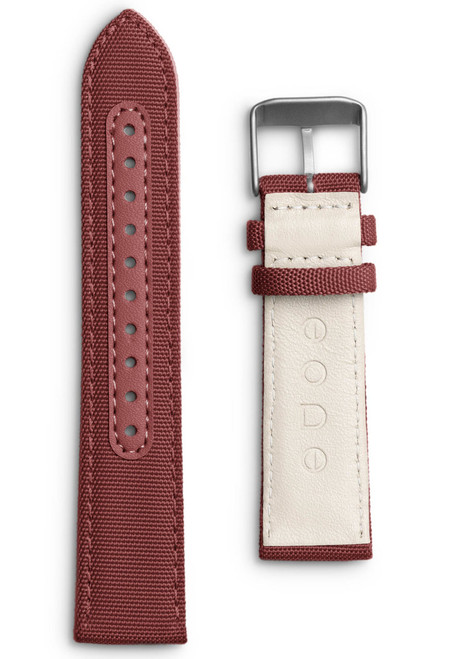 Eone Bradley Crimson Red Canvas Strap (S-RED)