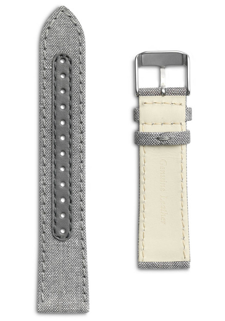 Eone Bradley Compass Salt and Pepper Canvas Strap (S-COMPASS)