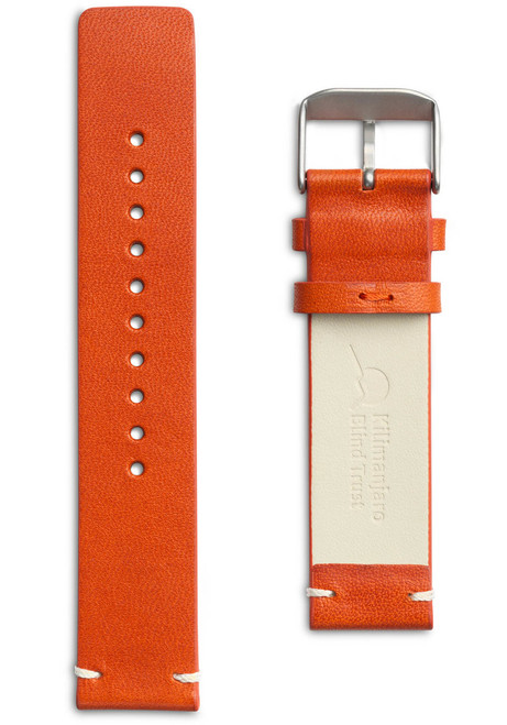 Eone Bradley KBT Orange Leather Strap (S-KBT)