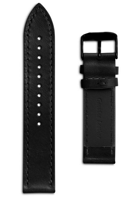 Eone Bradley Black Leather Strap (S-DZ)