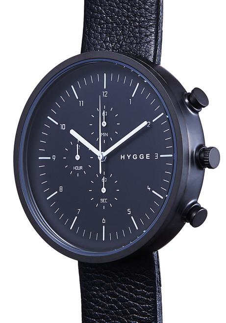 Hygge Horizon Chrono All Black (HGE-02-077)
