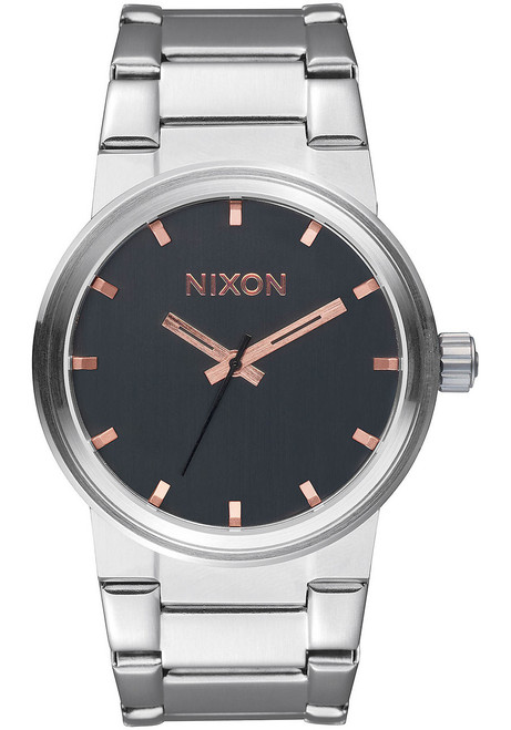 Nixon Cannon Gray Rose Gold (A1602064)