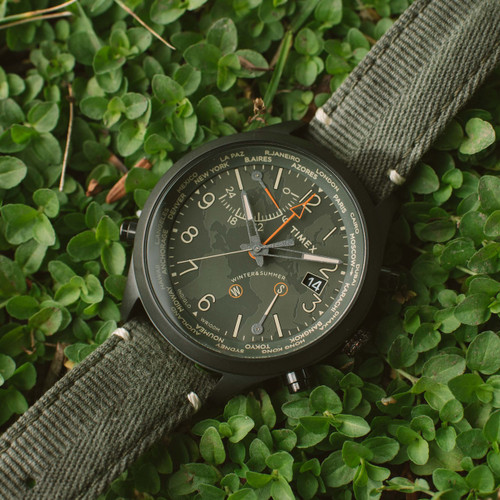 83606c875340 ... Timex Waterbury World Time Intelligent Quartz Black Olive (TW2R43200VQ)  ...