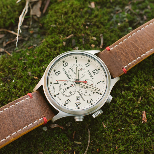 c10629dae ... Timex Expediton Scout Chrono Natural Brown (TW4B04300ZA) ...