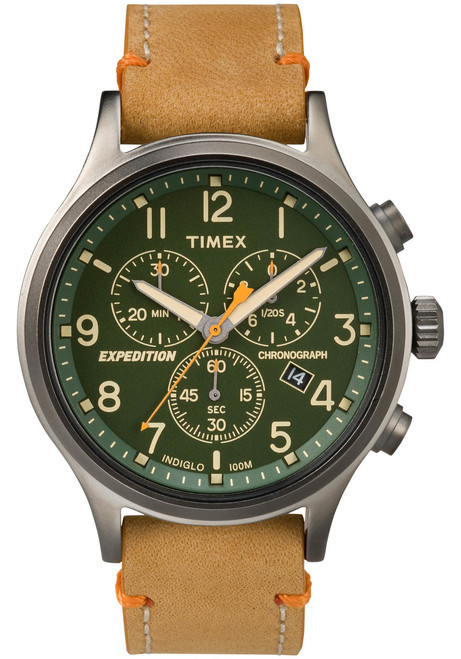 7cf5170ee3c8 Timex Expedition Scout Chrono Green Tan (TW4B04400) ...