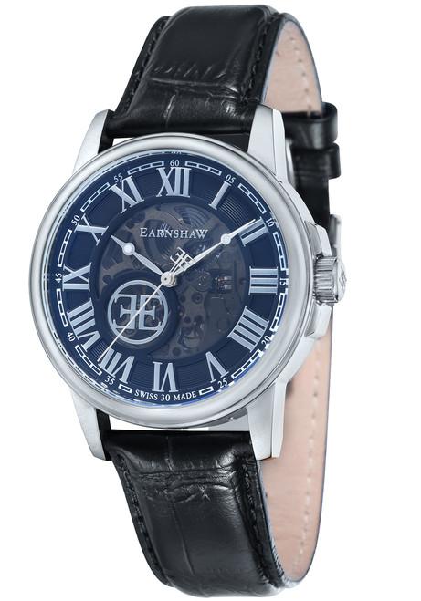 Thomas Earnshaw Beagle Silver Black (ES-0028-01)