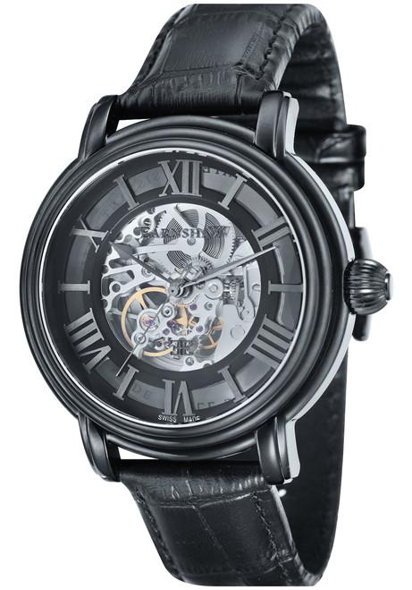 Thomas Earnshaw Longcase Black (ES-0032-02)