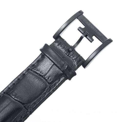 Thomas Earnshaw Longcase 43 Gunmetal Black Grey (ES-0016-07)