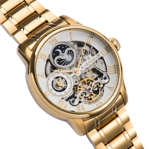 Thomas Earnshaw Longitude Gold White (ES-8006-22)