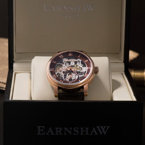 Thomas Earnshaw Westminster Rose Gold Brown (ES-8041-05)
