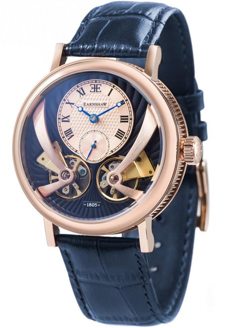 Thomas Earnshaw Beaufort Anatolia Automatic Rose Gold Blue (ES-8059-05)