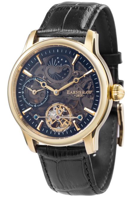 Thomas Earnshaw Longitude Shadow Automatic Gold Black (ES-8063-05)