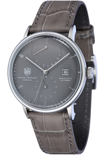 DuFa Albers Automatic Power Reserve Grey (DF-9010-02)