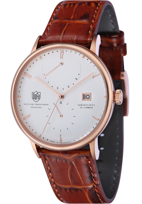 DuFa Albers Automatic Power Reserve Rose Gold (DF-9010-04)