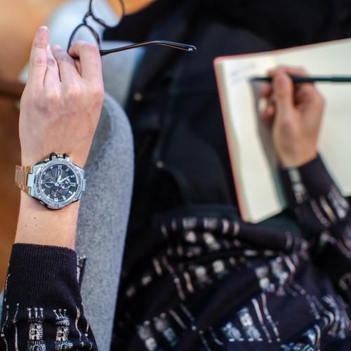 G-Shock G-Steel Connected Silver GSTB100D-1A (GSTB100D-1A) wrist