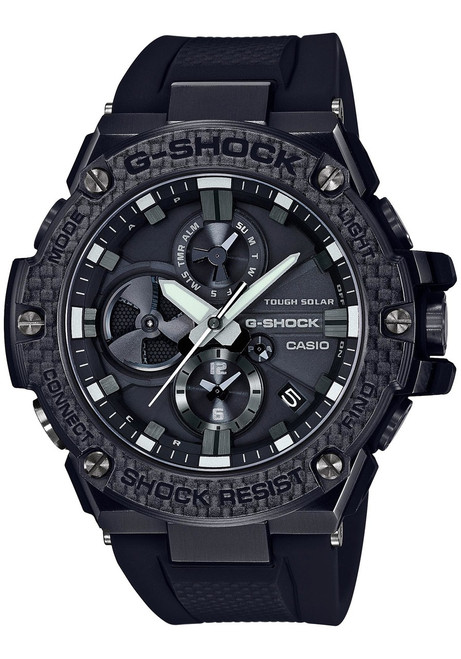 G-Shock G-Steel Connected Black Carbon Fiber Special Edition GSTB100X-1A (GSTB100X-1A)
